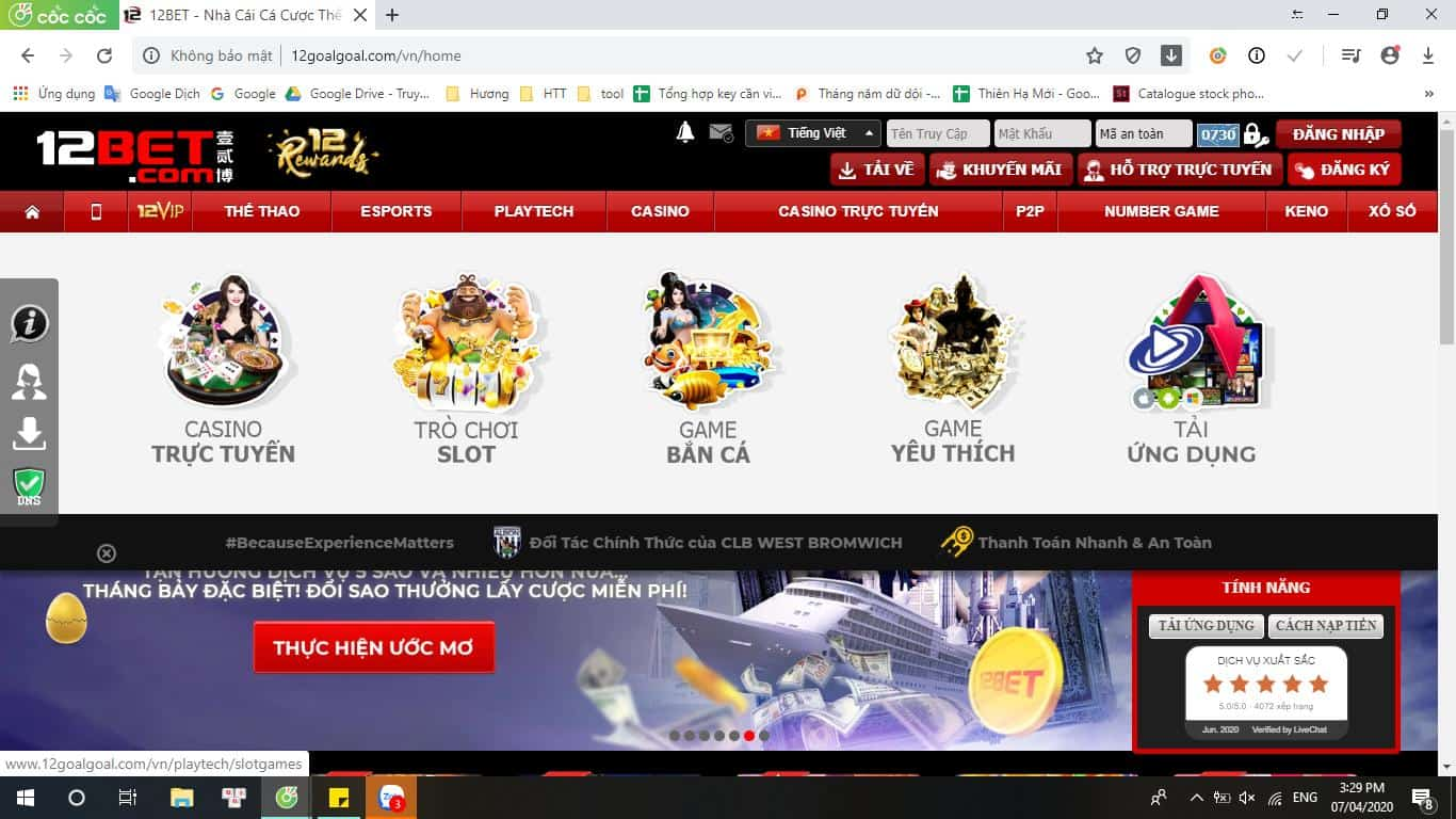 Slots là gì? Cách chơi Slot đổi thưởng kiếm tiền tỷ tại 12bet