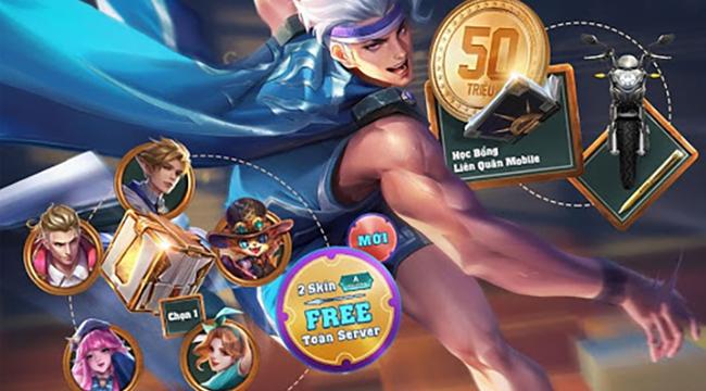 Liên Quân Mobile: Đón chờ loạt trang phục xịn cùng giải thưởng 50 triệu đồng trong chuỗi siêu sự kiện
