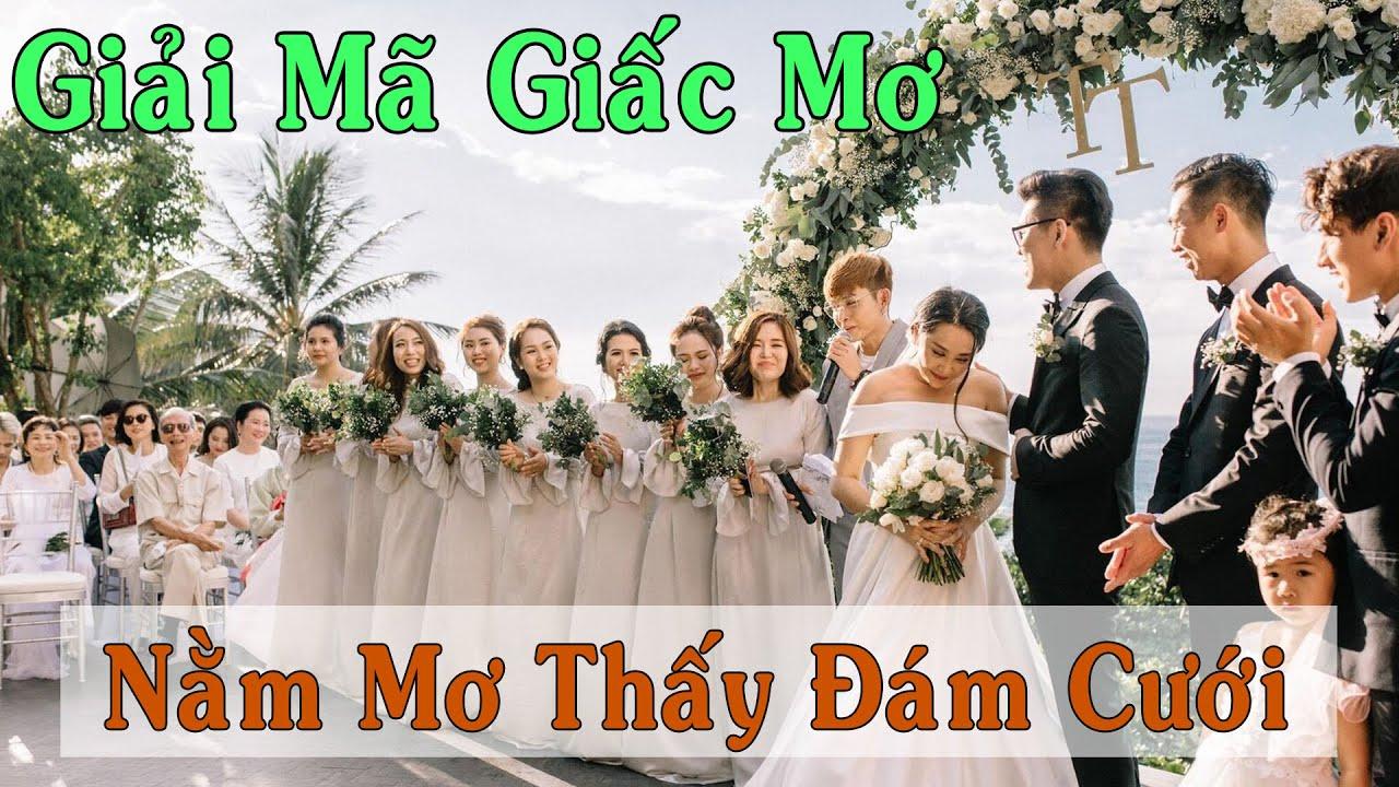 Điềm báo gì khi mơ thấy đám cưới?