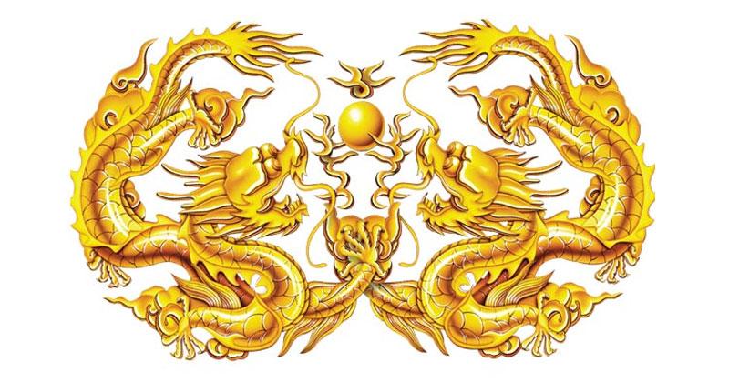 Mơ rồng nhả ngọc hoặc vàng